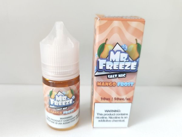 Juice Salt Mango Fros Mr. Freeze 30ml 35mg