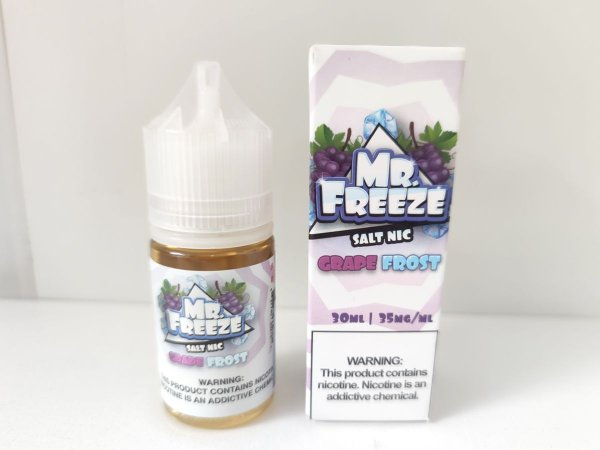 Juice Salt Grape Frost Mr. Freeze 30ml 35mg