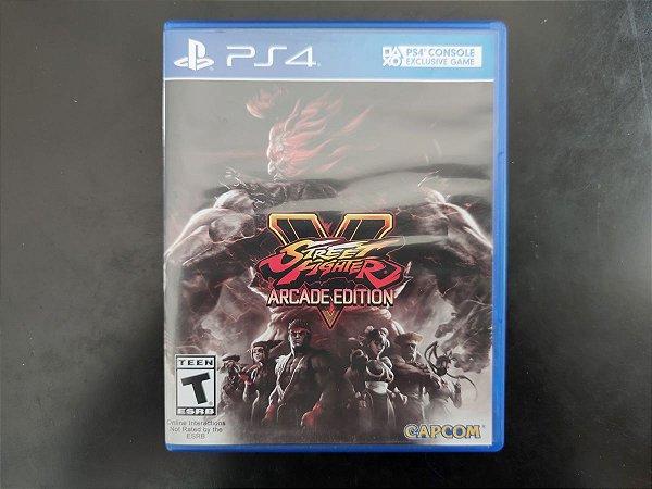 Street Fighter V Arcade Edition - Seminovo