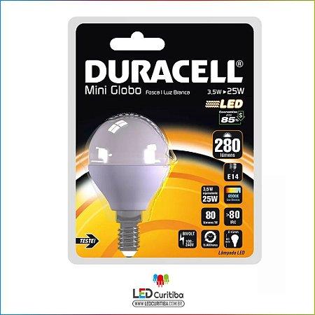 Lampada Led Mini Globo Bolinha E14 3,5w 6500k Branco Frio