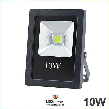 Refletor de Led Holofote 10w Bivolt 700lm 6500k Branco frio