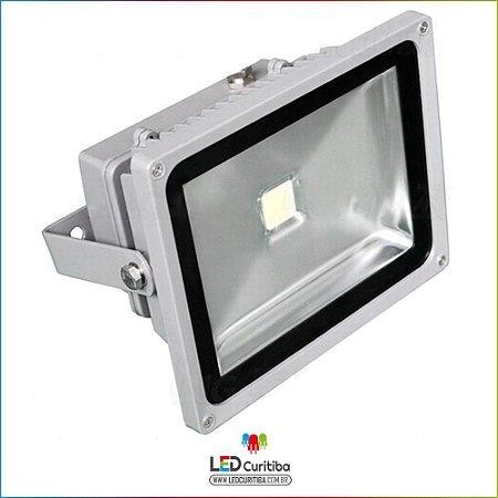 Holofote Refletor De Led Cob 50w 6000k Ip65 Interno/externo