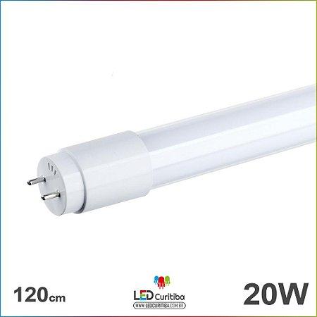 Lampada Tubular T8 20w 120cm 6500k Branco Frio Bivolt