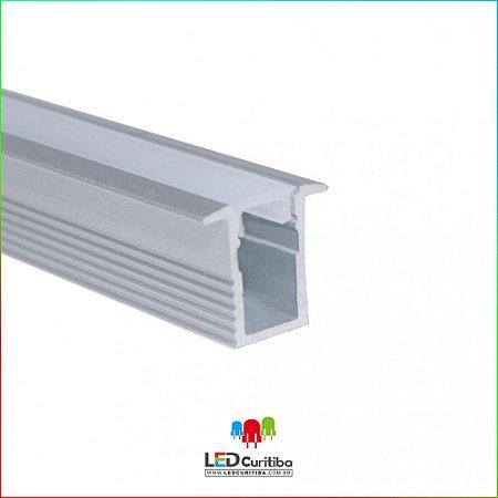 Perfil de Embutir para Led em Alumínio EKPF11SL