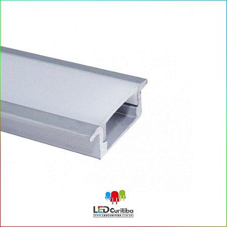 Perfil de Embutir para Led em Alumínio EKPF21
