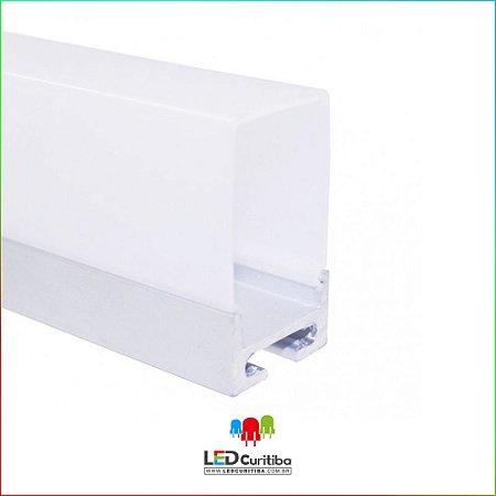 Perfil de Sobrepor-Pendente para LED em Alumínio EKPF84