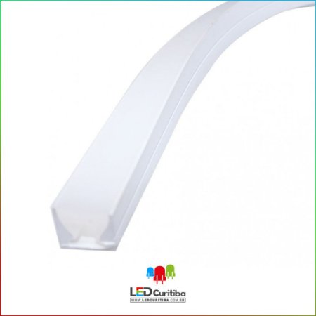 Perfil para Led em Silicone EKPF85 Flex - Perfil Flexivel em Silicone para Led