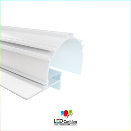 Perfil de Luz Indireta para Led em Alumínio EKPF93
