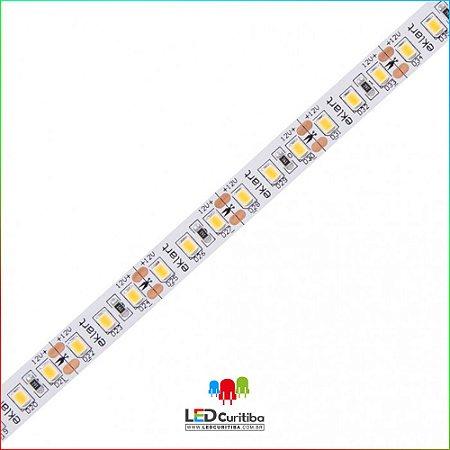 Fita LED 10W/m 2835 120Leds/m – IP20 Interno 12v 1000 Lúmens