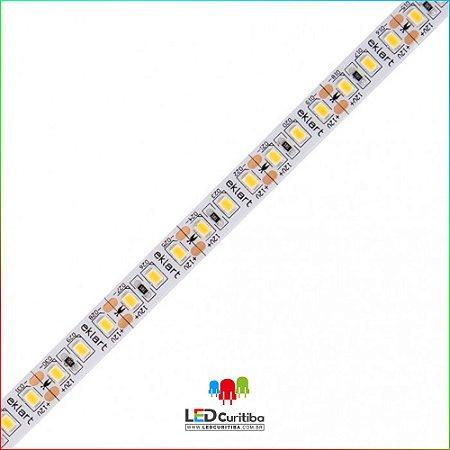 Fita LED 10W/m 2835 120Leds/m – IP65 Interno/Externo 12v 1000 Lúmens