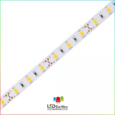 Fita LED 16W/m 5730 60Leds/m – IP20 Interno 12v 1600 Lúmens