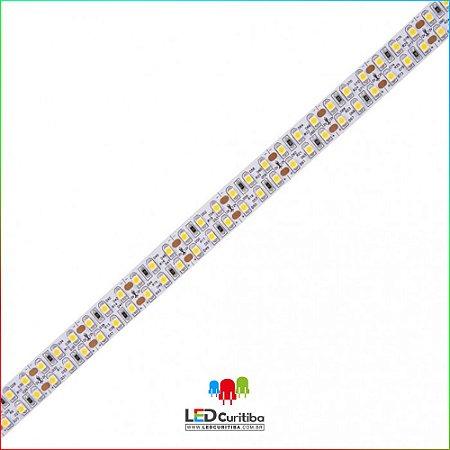 Fita LED 19,2W/m 2835 240Leds/m – IP20 Interno 12v 1900 Lúmens