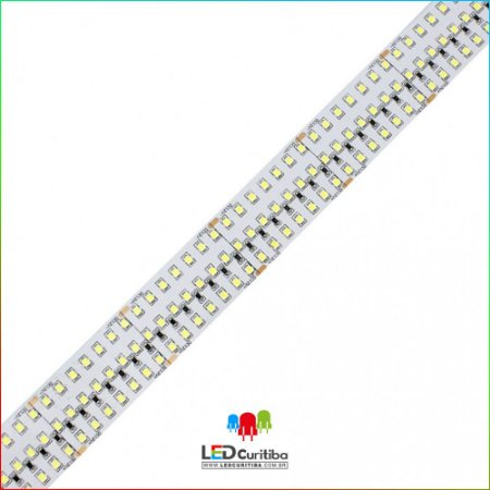 Fita LED 34W/m 2835 420Leds/m – IP20 Interno 12v - 3500 Lúmens