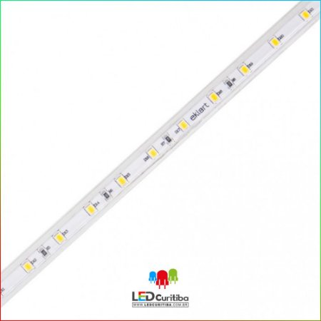 Fita LED Plug&Play 4,5W/m 2835 60Leds/m – IP66 Interno/Externo 220v 200 Lumens