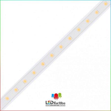 Fita LED PRIME Plug&Play 9W/m 5050 60Leds/m IP66 Interno/Externo 127v 400 Lúmens