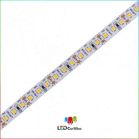 Fita LED 2835 10W Ambar 120Leds/m - IP20 Interno 12v - 1000 lumens Ambar