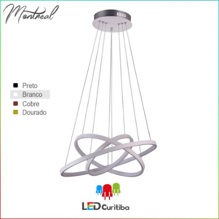 Pendente Montreal LED 24W+30W+35W | 4181lm | 3000K