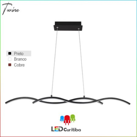 Pendente Twine LED 15W-900lm-3000K