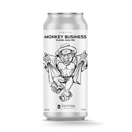Monkey Business - Double Juicy IPA - 473 ml - Guitera Brewers