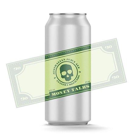 Money Talks - Australian Juicy Ale - 473 ml - Guitera Brewers