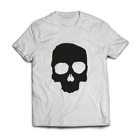 Camiseta Branca Caveira - Guitera Brewers