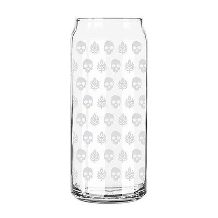 Copo Lata Caveira e Lúpulo Branco - 473 ml - Guitera Brewers