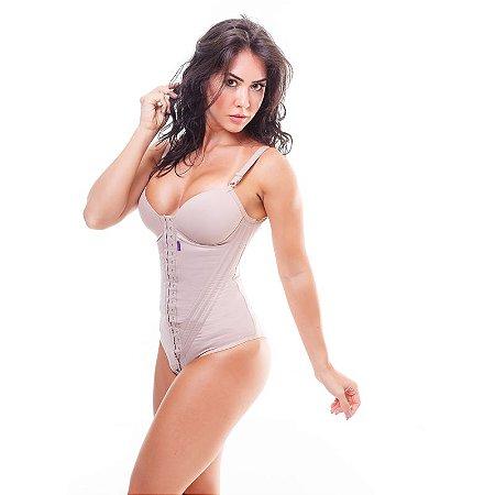 3c143c0de Cinta modeladora feminina BODY com bojo - Bege - Cinta modeladora ...