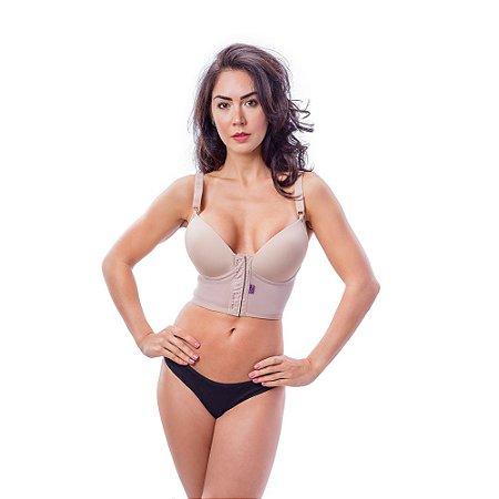 Sutiã feminino modelador sem renda