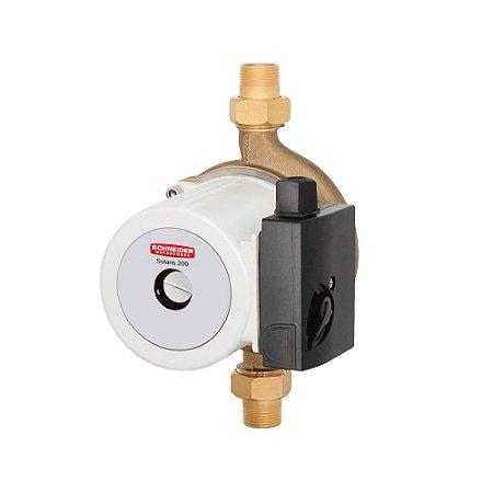 Bomba Circuladora Solaris 200 1/3 Cv com capacitor permanente e proteção térmica SCHNEIDER