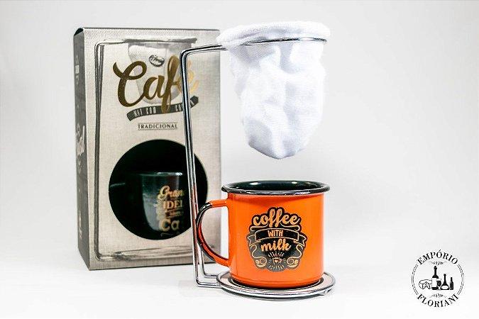 Kit café 3 peças
