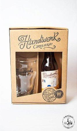 Kit cerveja artesanal Handwerk cerveja + copo