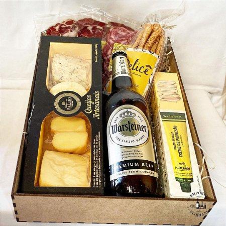 Box gourmet cerveja importada e harmonizações