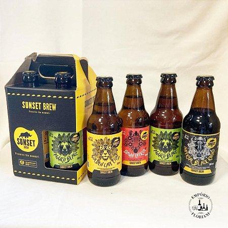 "Kit cerveja artesanal ""Experiência Sunset"""