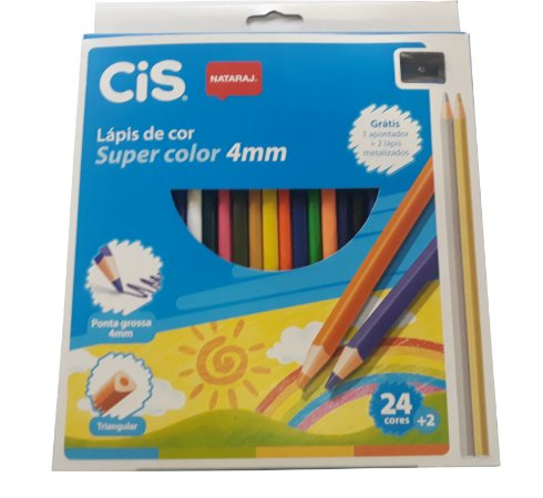 Lápis de Cor Super Color 4mm - CIS