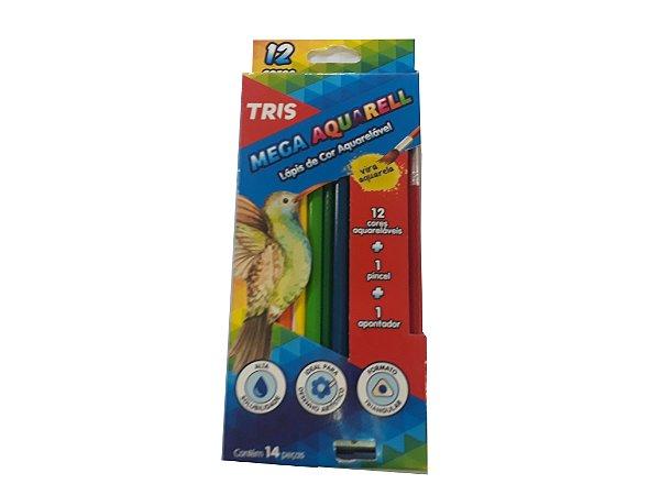 Lápis Mega Aquarell - TRIS