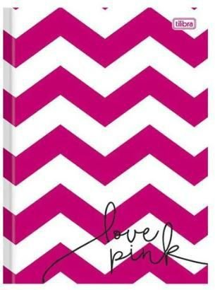 Caderno Love Pink - 48 folhas