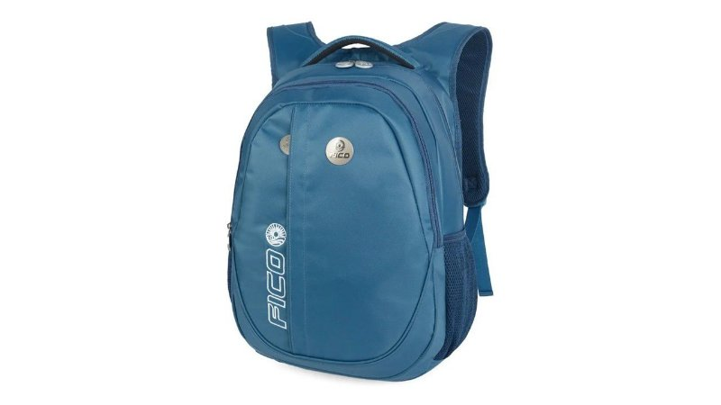 Mochila Notebook Fico Mj48465fo Azul Lisa