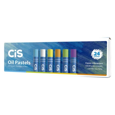Giz Pastel a Óleo  CiS -  24 Cores