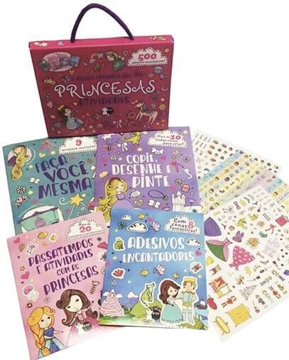 O mundo brilhante das princesas