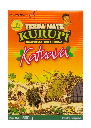 Erva Mate Kurupi Katuava 500g
