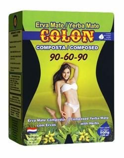 Erva Mate Colon Emagrecedora 90-60-90 500g