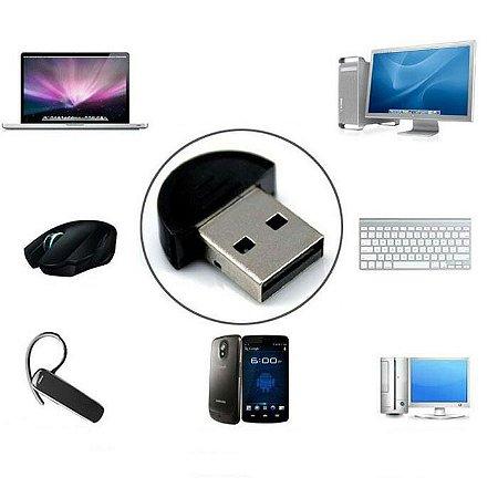 Adaptador Bluetooth Dongle Usb 2.0 Pc Notebook Celular | V19 PARA COMPUTADORES OU NOTEBOOKS