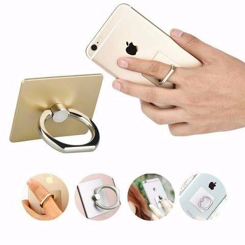 Suporte Celular Smartphone Tablet Anel Anti Roubo Ring