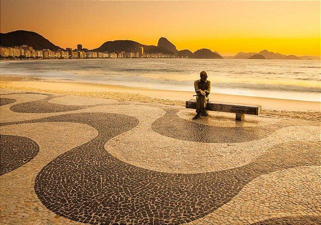 Amanhecer em Copacabana