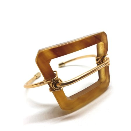 Bracelete Dourado Tartaruga