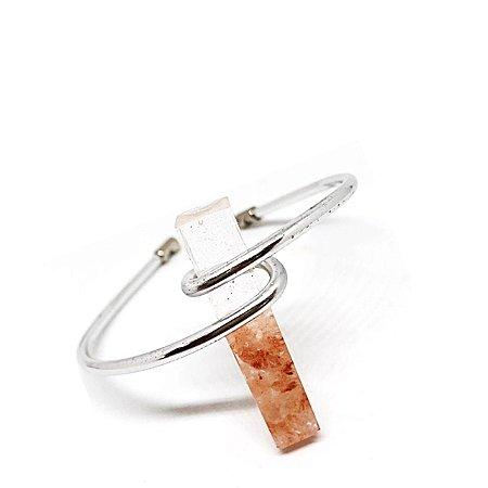 Bracelete Pino Sal Rosa - Escolha seu pingente
