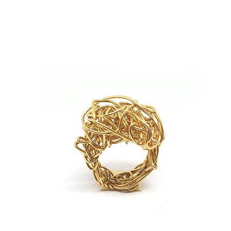 Anel Ninho Dourado