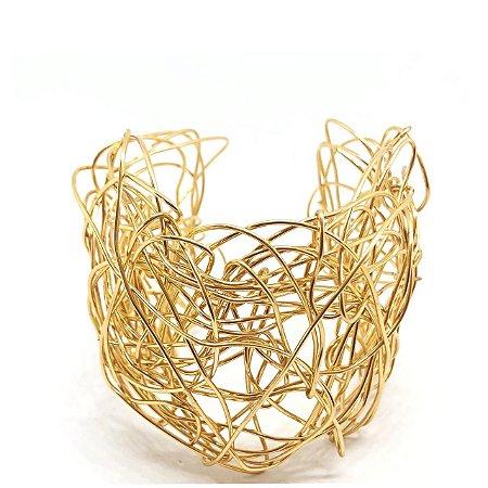Bracelete Ninho Dourado