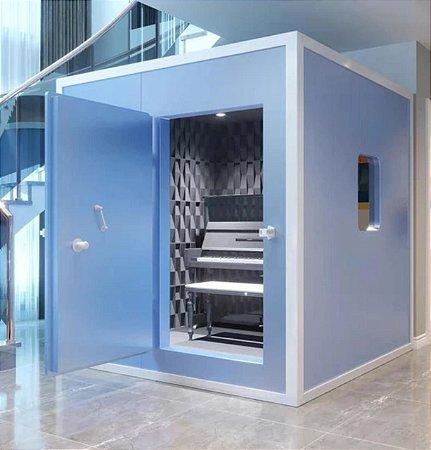 Cabine Acústica Gold Premium (Blue)