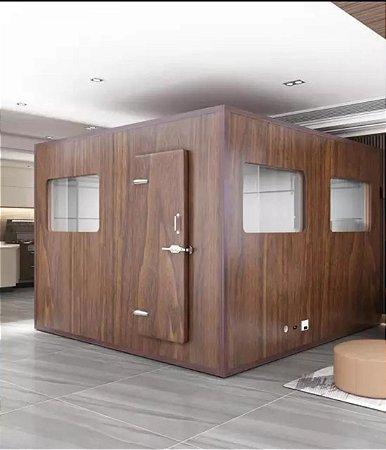 Cabine Acústica Gold Premium (Brown)